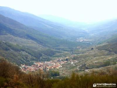 Cerezos flor_Valle del Jerte;valle de nuria federacion madrileña embalse san juan